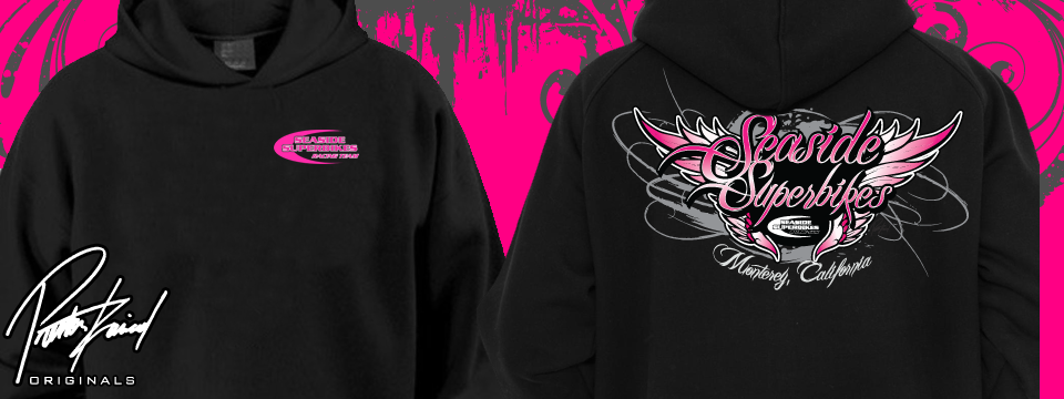 "Introducing our new ""Angel Wings"" Ladies Hoodies"